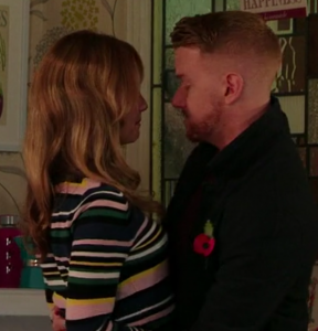 Gary Windass and Maria Sutherland Coronation Street