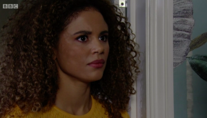Chantelle is living a nightmare with abusive husband Gray (Credit: BBC)