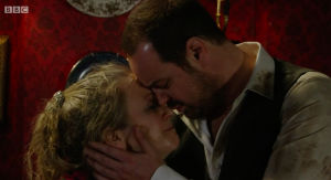 Mick and Linda Carter in EastEnders