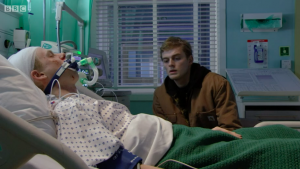 Peter and Bobby Beale in EastEnders