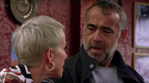 Kevin and Debbie Webster in Coronation Street