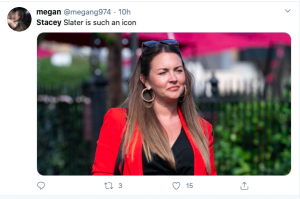 Stacey tweet