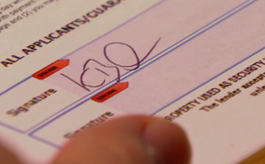 Kathy Beale's signature
