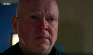 Phil Mitchell EastEnders tears