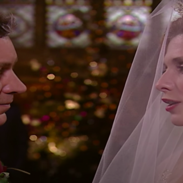 Christmas Countdown 6: Bernice and Ashley's fairytale wedding Emmerdale 2000