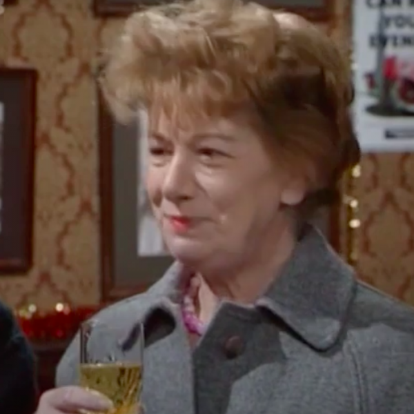 Christmas Countdown 7: Hilda leaves Coronation Street 1987