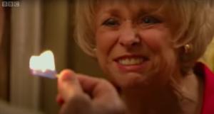 Peggy Let it burn EastEnders