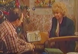 Peggy MItchell Mark Fowler EastEnders