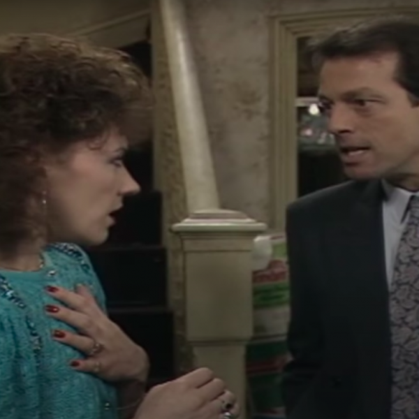 Christmas Countdown 24: Den asks Angie for a divorce EastEnders 1986