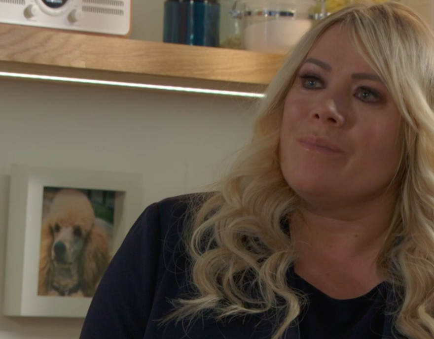 Sharon Watts and Roly