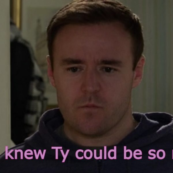 Five things that surprised us in this week's soaps. *Narrows eyes at Coronation Street's Tyrone*